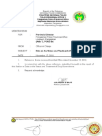 Data on the Status and Treatment of Drug Surrenderers