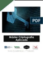 Máster en criptografía