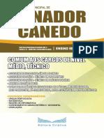 Apostila Concurso Prefeitura de Senador Canedo