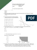 Soal PAS Matematika Wajib Kls 11 Baru