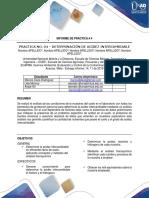 Informe de Práctica 4 y 6 Quimica Ambiental