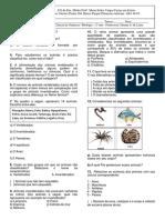 Exercícios Vertebrados e Invertebrados - IMPRIMIR