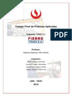 Trabajo Final de Finanzas Aplicadas (EJEMPLO)