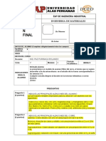 Ingenieria de Materiales - Examen Final 2014 Agosto- Elmer - Desarrollado