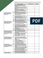 MOV Checklist