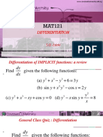Mat121_note IV on Differentiation