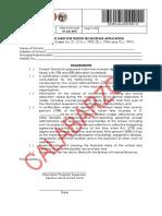 Pri External Increase Tution Fee Application