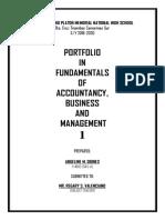 Fundamentals of Abm 1