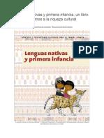 Lenguas Nativas y Primera Infancia
