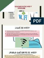 Diferencias Entre Wifi y Wireless
