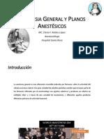 Anestesia General y Planos Anestésicos