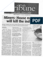 Daily Tribune, Nov. 21, 2019, Miner House measure will kill the industry.pdf