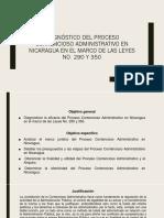 diganostico del procedimiento contencioso administrativo