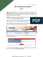 DeltaPAY Merchant User Manual - V1.7