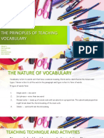 Ppt Tesol Teaching Vocabulary