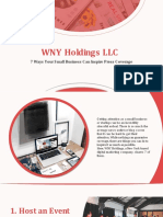 WNY Holdings LLC | #WNYwednesday | 7 Ways Your Small Business Can Inspire Press Coverage