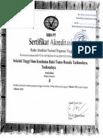 Fc Sertifikat Akreditasi Perguruan Tinggi