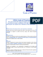 CESA Code of Practice