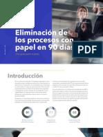 Eliminación de Los Procesos Con Papel en 90 Días - DocuWare E-Book