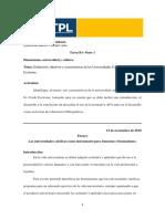 TAREA B1 - PARTE 1 Definición, Objetivos y Características de Las Universidades Católicas en Ex Corde Ecclesiae. Por MARIA JOSE TORRES LANDAZURI