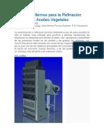 Procesos Alternos Para La Refinación Química de Aceites Vegetales
