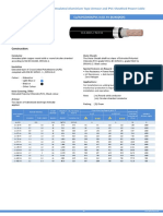 Cu Xlpe Dsta Pvc 0.6 1 Kv (n2xby)