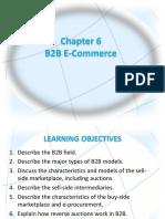 CHAPTER 6 B2B E-COMMERCE