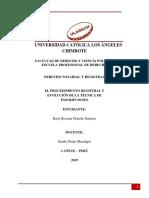 Derecho Notarial Registral Tarea 10 Kattyormeño