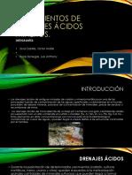 Tratamientos de Drenajes Ácidos Mineros