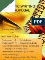 15525 Writing Proposal