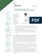 3.2 Capa de Enlace de Datos - Redes de Computadoras