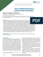 A Permission-Less Blockchain Based on DPoS-BA-DAG Consensus for Data Tokenization