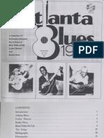 Atlanta Blues History 1933