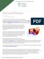 Galvanizing Copper Containing… _ American Galvanizers Association