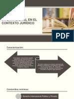 Comercio Internacional en El Contexto Jurídico