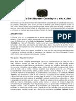 A Biografia de Aleyster Crowley e o Seu Culto