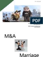 Pixar Disney M&A
