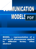 Communication Models (1)