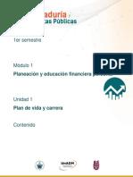 Contaduría y Finanzas Públicas Unidad 1 Modulo 1