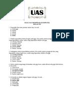 Soal UAS Memfrais Komplek