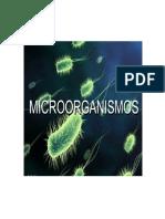 Tipos de Microorganismos Por Temperaturas