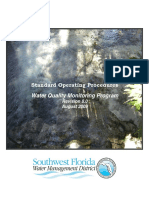 Water Quality Monitoring Program Standard Operating Procedures