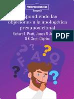 Respondiendo Las Objeciones a La Apologética Presuposicional - Richard Pratt, James Anderson, & K. Scott Oliphint