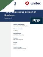 Títulos Valores que circulan en Honduras
