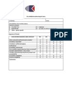 CNL Drill Report Form