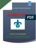 Algebra Lineal Miguel