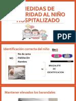 Pediatría / Mediadas de seguridad