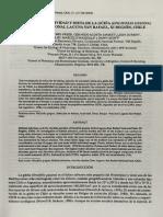 Uso de habitad, actividad y dieta de oncifelis guina