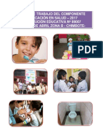 Plan de Educación en Salud