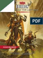 Eberron - Rising From the Last War